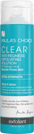 CLEAR Extra Strenght Anti-Redness Exfoliating Solution