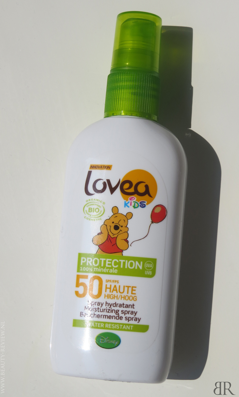 Lovea Bio Spray Kids SPF 50 voorkant