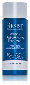 Resist Weekly Resurfacing Treatment with 10 procent Alpha Hydroxy Acid