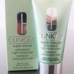 Review – Clinique Super Rescue Antioxidant Night Moisturizer