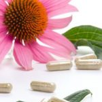 Echinacea bloem en preparaten