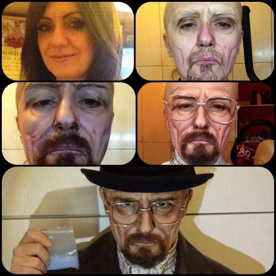 Lucia Pittalis - Walter White