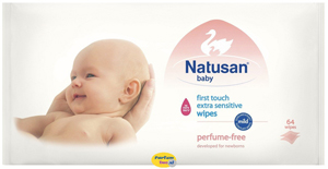 Natusan Baby First Touch Extra Sensitive Wipes