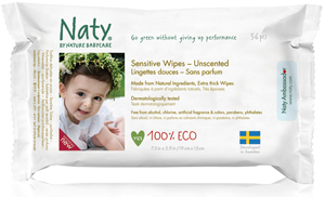Naty By Nature Babycare Sensitive Wipes