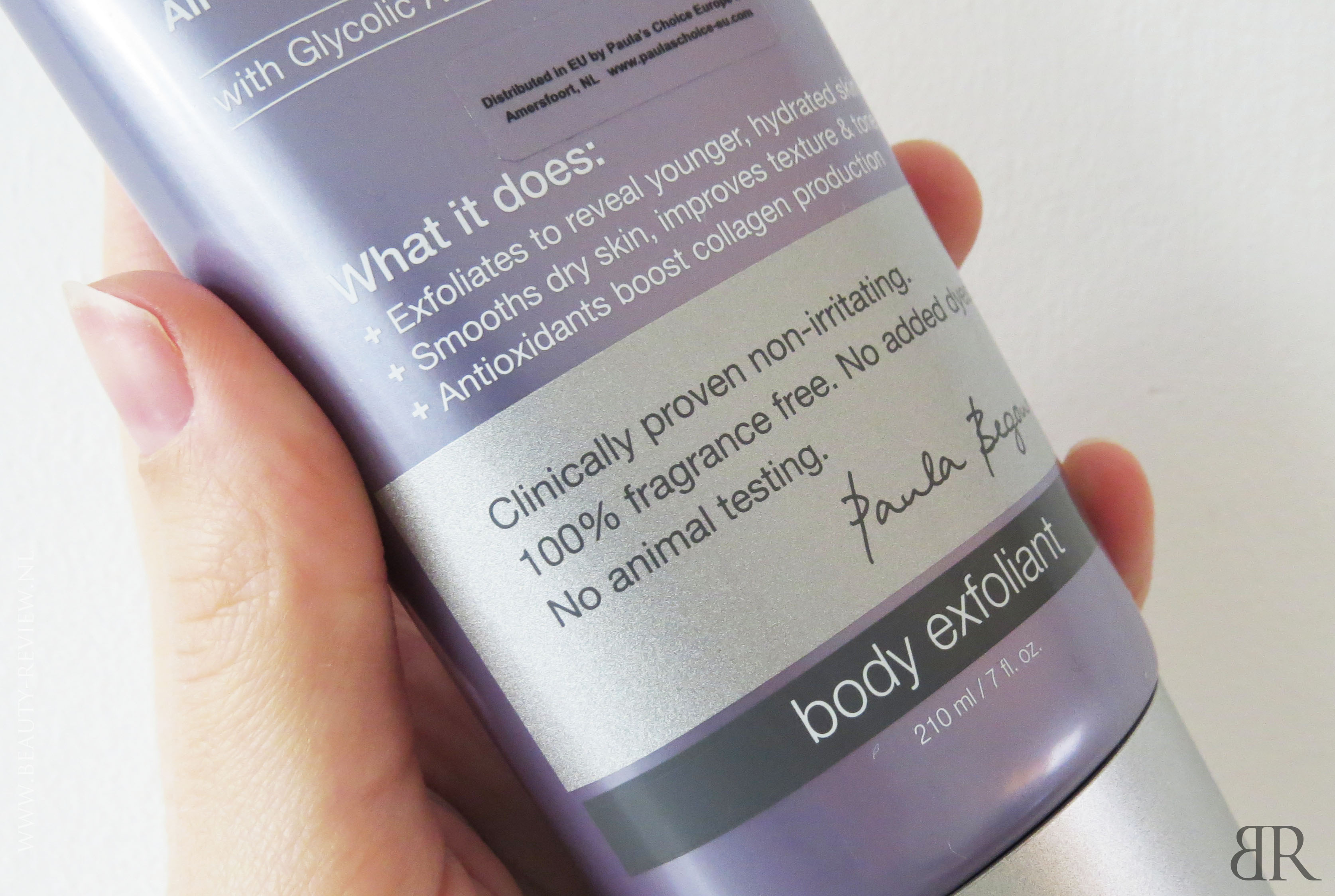 RESIST Skin Revealing Body Lotion 10 procent AHA cosmeticaclaims