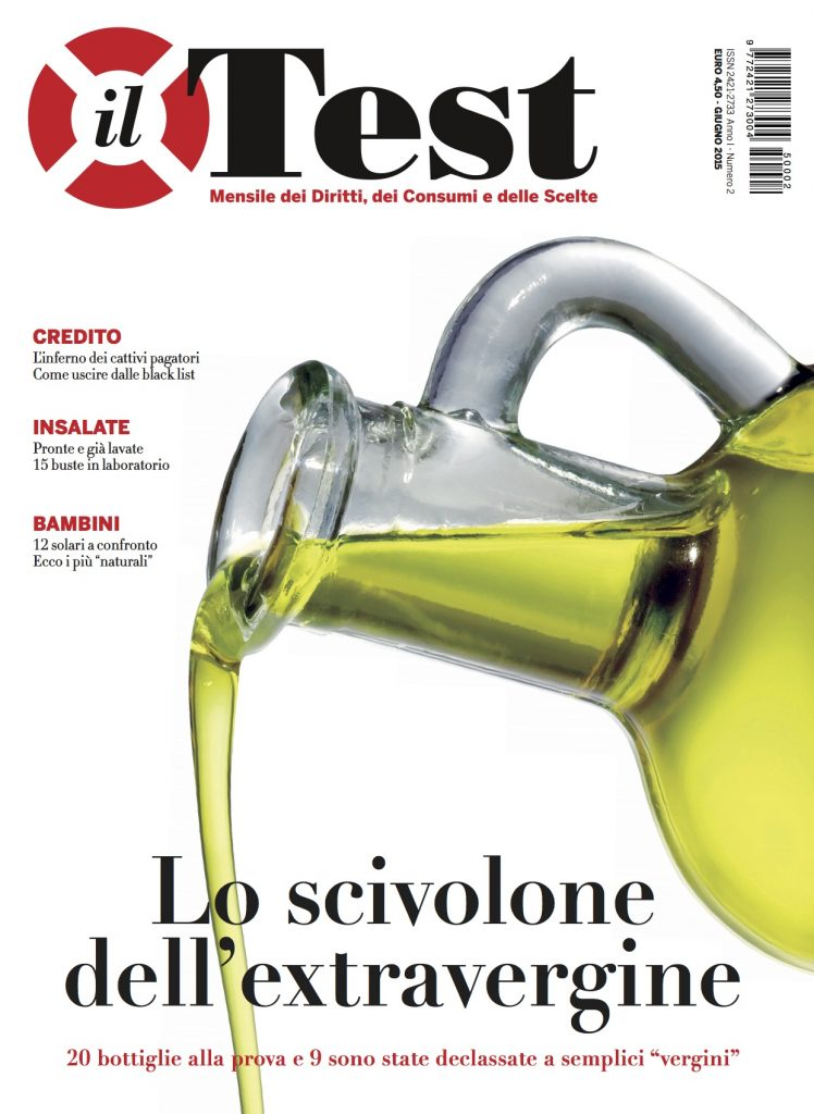 Cover Il Test Olijfolie