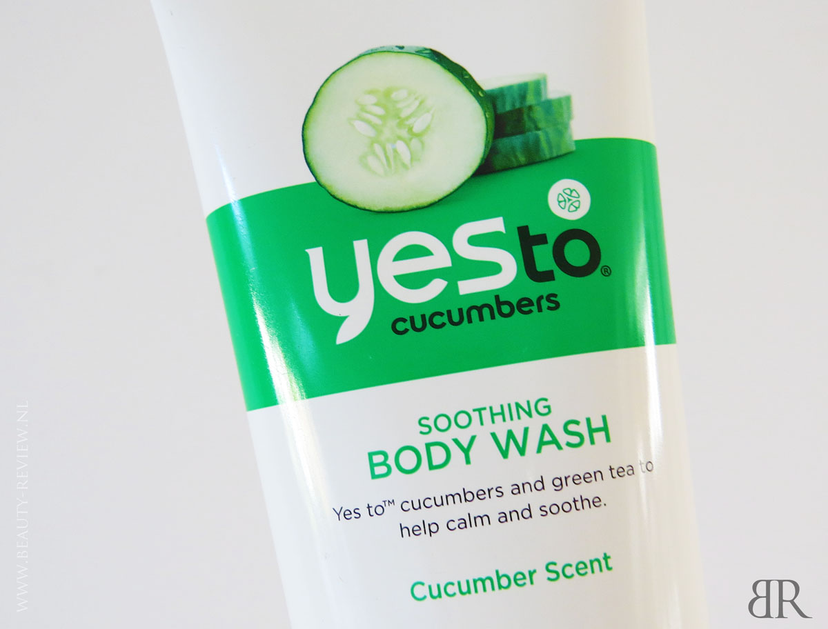 Yes To Cucumbers Body Wash fragment