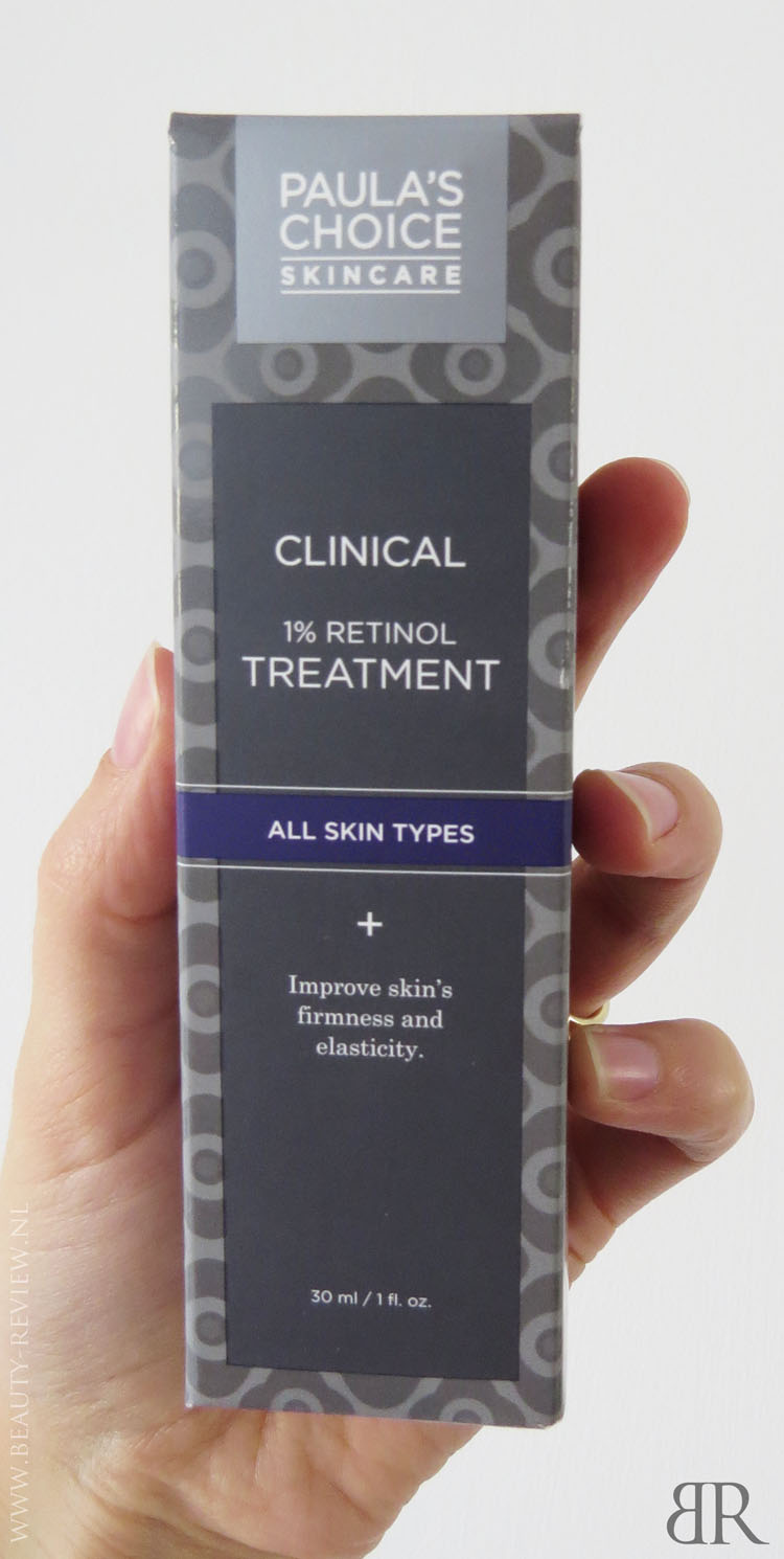 Paula's Choice Clinical 1 procent Retinol Treatment verpakking