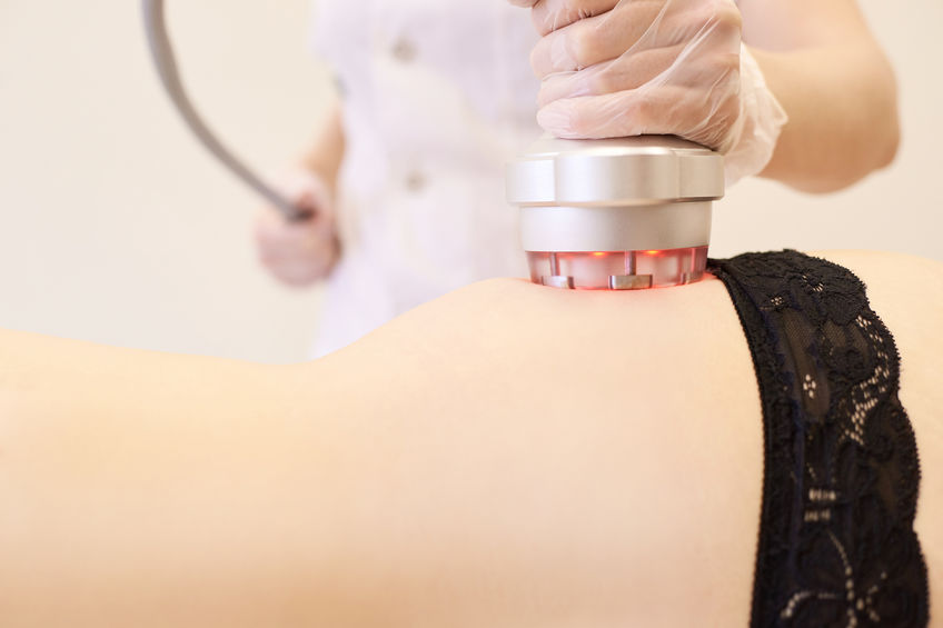 Ultrasound care to fat reduction.